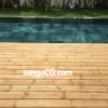 Sàn gỗ thông ngoài trời